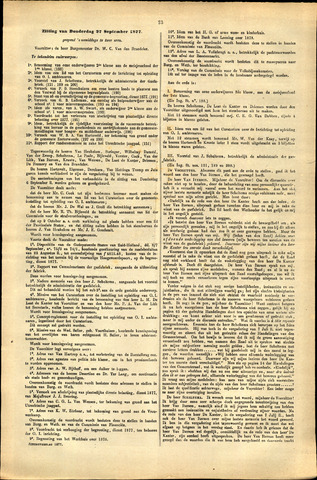 Handelingen van de Raad 1877-09-27