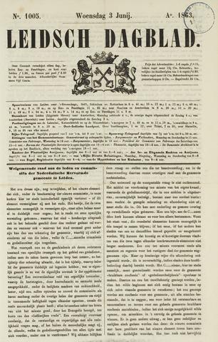 Leidsch Dagblad 1863-06-03