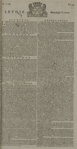 Leydse Courant 1739-05-18
