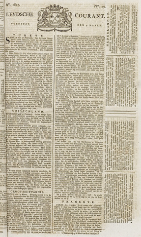 Leydse Courant 1825-03-09