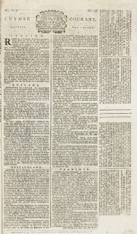 Leydse Courant 1819-03-01