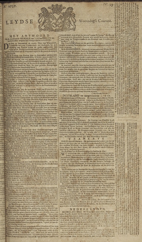 Leydse Courant 1757-03-09