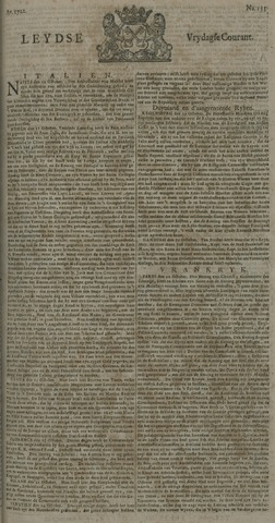 Leydse Courant 1722-11-06