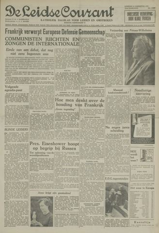 Leidse Courant 1954-08-31