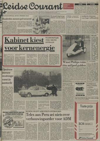 Leidse Courant 1985-01-11