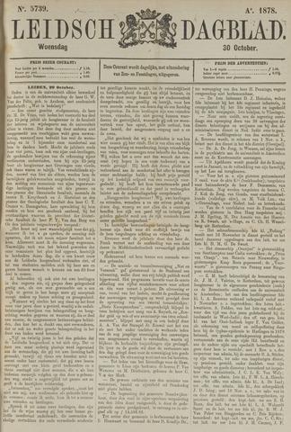 Leidsch Dagblad 1878-10-30