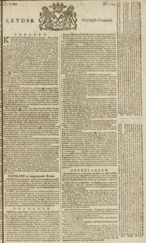 Leydse Courant 1769-09-22