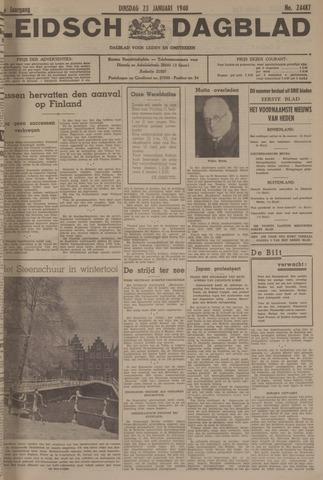 Leidsch Dagblad 1940-01-23