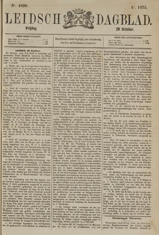 Leidsch Dagblad 1875-10-29
