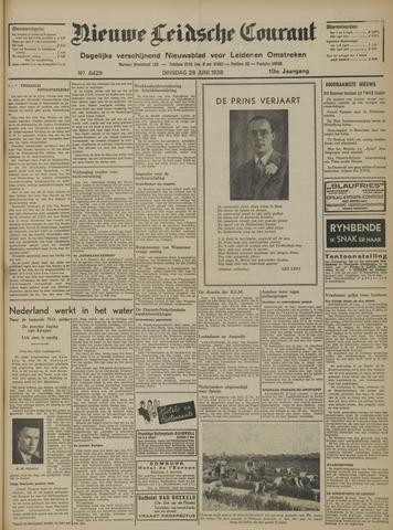 Nieuwe Leidsche Courant 1938-06-28