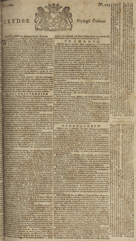 Leydse Courant 1760-10-17