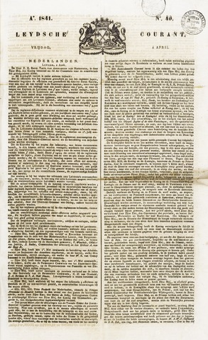 Leydse Courant 1841-04-02
