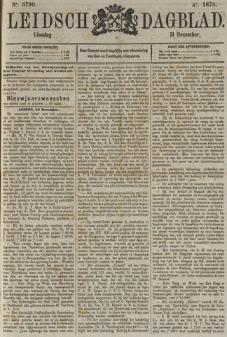 Leidsch Dagblad 1878-12-31