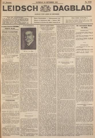 Leidsch Dagblad 1932-09-24