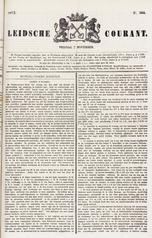 Leydse Courant 1873-11-07