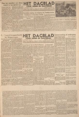 Dagblad voor Leiden en Omstreken 1944-10-07