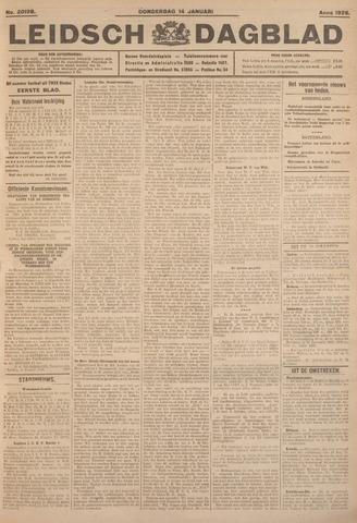 Leidsch Dagblad 1926-01-14