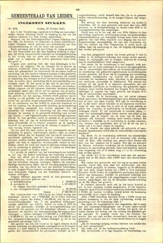 Handelingen van de Raad 1913-10-27