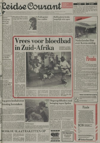 Leidse Courant 1985-10-19