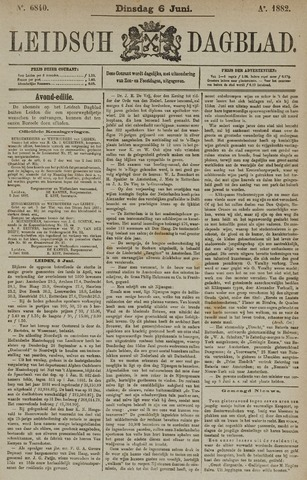 Leidsch Dagblad 1882-06-06