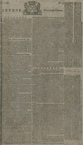 Leydse Courant 1748-03-20