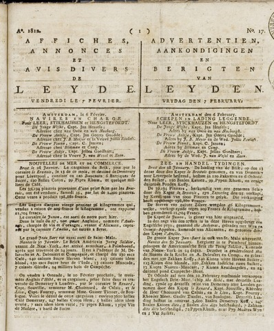 Leydse Courant 1812-02-07