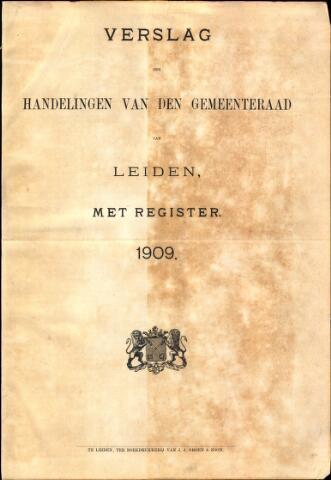 Handelingen van de Raad 1909-01-01
