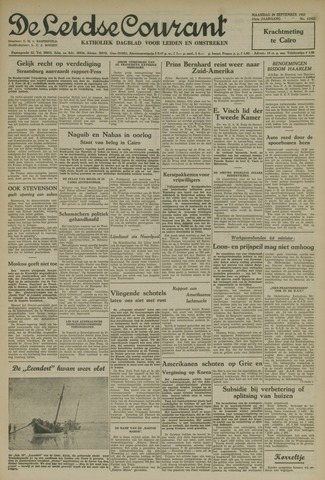 Leidse Courant 1952-09-29