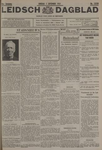 Leidsch Dagblad 1937-09-07