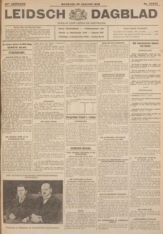 Leidsch Dagblad 1928-01-30
