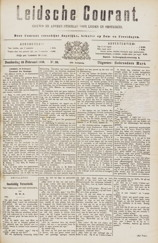 Leydse Courant 1889-02-28