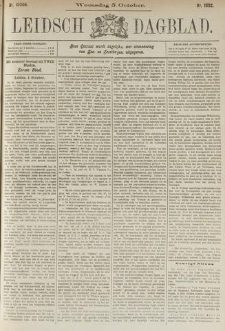 Leidsch Dagblad 1892-10-05