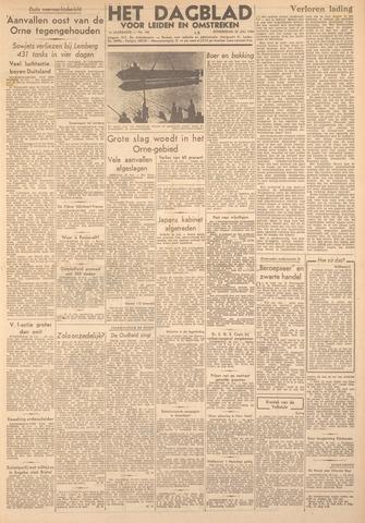 Dagblad voor Leiden en Omstreken 1944-07-20