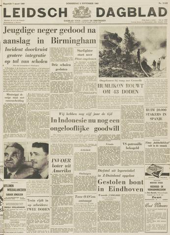 Leidsch Dagblad 1963-09-05