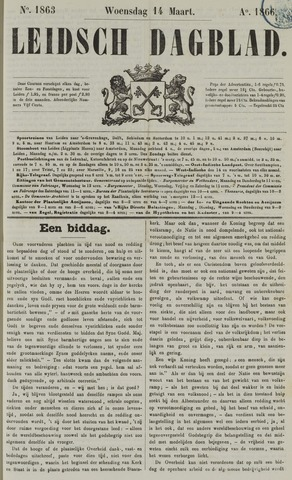 Leidsch Dagblad 1866-03-14