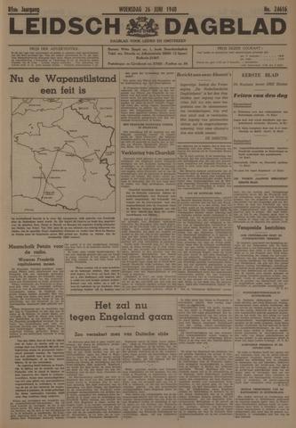 Leidsch Dagblad 1940-06-26