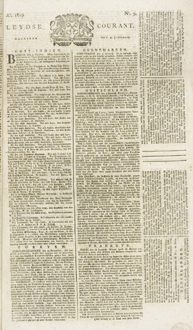 Leydse Courant 1819-01-20