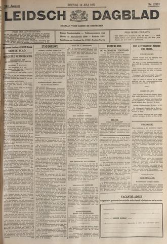 Leidsch Dagblad 1933-07-18