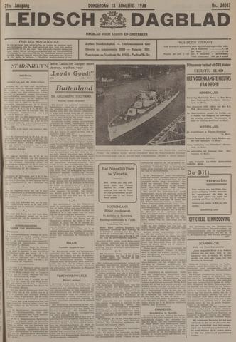 Leidsch Dagblad 1938-08-18
