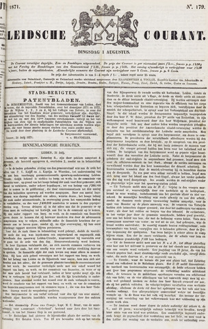 Leydse Courant 1871-08-01