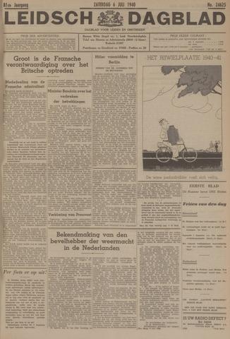 Leidsch Dagblad 1940-07-06