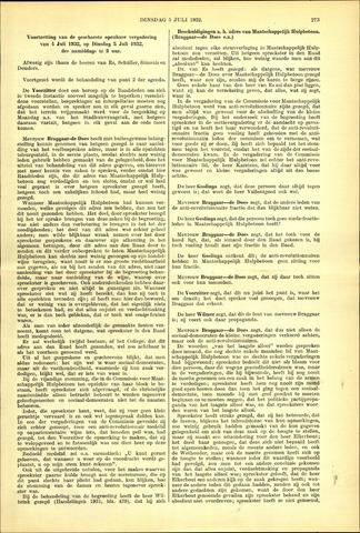 Handelingen van de Raad 1932-07-05