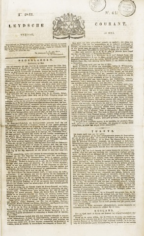 Leydse Courant 1841-05-28