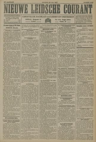 Nieuwe Leidsche Courant 1927-07-26