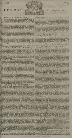 Leydse Courant 1739-05-27
