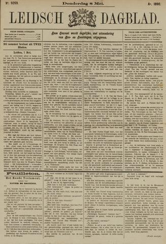 Leidsch Dagblad 1890-05-08