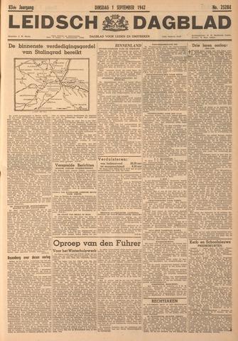Leidsch Dagblad 1942-09-01