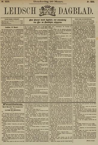 Leidsch Dagblad 1890-03-20