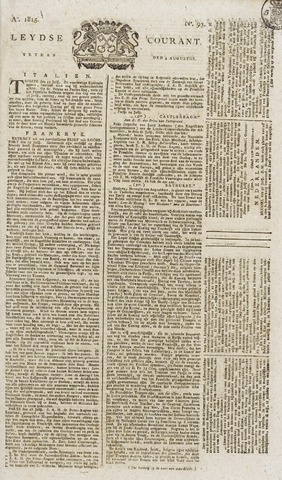 Leydse Courant 1815-08-04