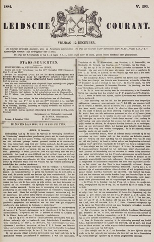 Leydse Courant 1884-12-12